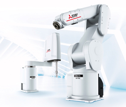 Faster start-up with new MELFA FR robot series